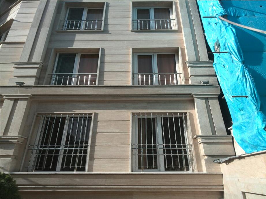 نرده استیل ساختمان