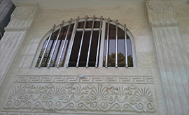 نرده استیل حفاظ پنجره
