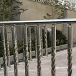 نرده های استیل راه پله