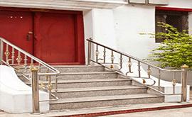 قیمت نرده استیل راه پله در کرج