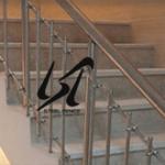 قیمت انواع نرده استیل راه پله در اصفهان