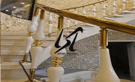 قیمت نرده استیل دکوراتیو در کی اس جی